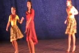 Gandrų kvartetas, dainuoja Aleksandra Skliar, Ukraina, Jalta